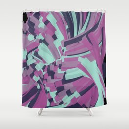 Twisting Nether Shower Curtain