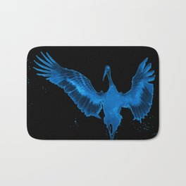 Blue Crane Bath Mat
