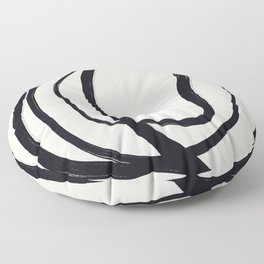 So Much Noise - Abstract Art Print Floor Pillow