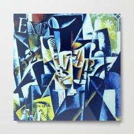 "Lyubov Popova ""Portrait of a Philosopher"" Metal Print"