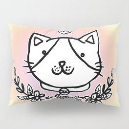 Cat doodles Pillow Sham