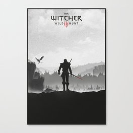 The Witcher: Wild Hunt Canvas Print