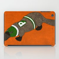 platypus iPad Cases featuring Platypus by subpatch
