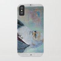darwin iPhone & iPod Cases featuring Charles Darwin by Michael Cu Fua