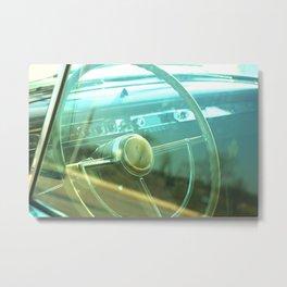 Studebaker Classic Car Photograph Metal Print