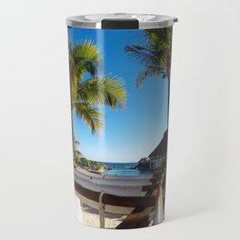 Tropical Vibes Travel Mug