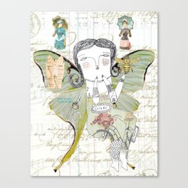 Volar - Don't cut your wings. Canvas Print