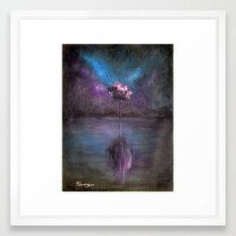 Beauty of simplicity Framed Art Print