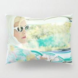 Vintage 1950s Pillow Sham