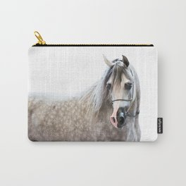 horse collection. arabian grey Carry-All Pouch