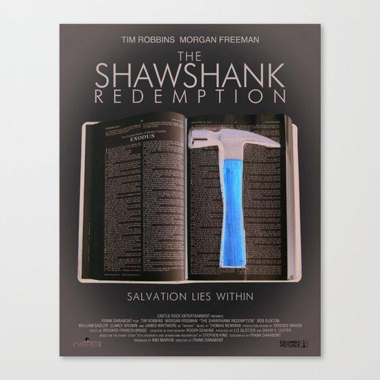 the shawshank redemption Canvas Print