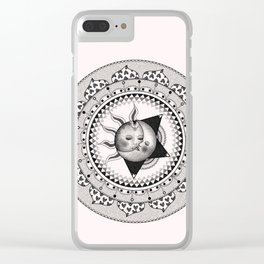 Forbidden Love Clear iPhone Case