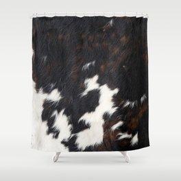 Cowhide Texture Shower Curtain