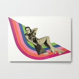 Ride the Rainbow Metal Print
