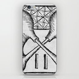 Alchemical apparatus. 'The double pelican' iPhone Skin