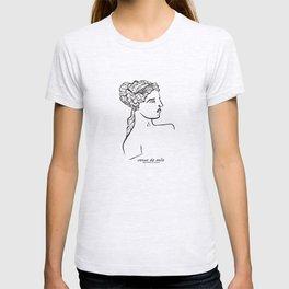 Venus de Milo statue T-shirt
