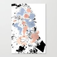 san francisco map Canvas Prints featuring San Francisco Crime Map by ARTITECTURE