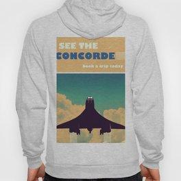 See the concorde vintage poster. Hoody