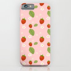 Strawberry Plant iPhone 6s Slim Case