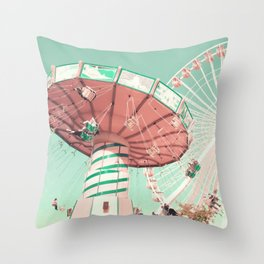 Fun Has Just Begun Throw Pillow