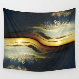 Sunset Yin Yang Wall Tapestry