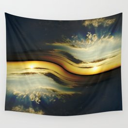 Sunset Yin Yang Wall Tapestry