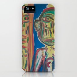 Twin Portrait iPhone Case