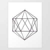 prism Art Prints featuring Prism by Bridget Davidson