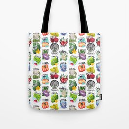 Vegetables Pattern Tote Bag