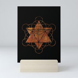 Seed of Life Merkaba Mini Art Print