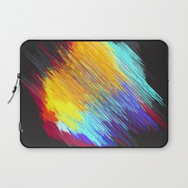 Streaky color patch Laptop Sleeve