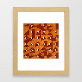Magic Square #4 (With Sigil) Framed Art Print