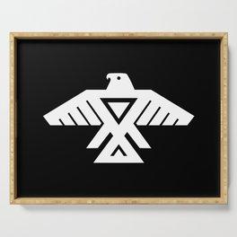 Thunderbird flag - Inverse edition version Serving Tray