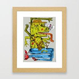 Dinowadays Framed Art Print