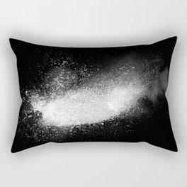 white dust explosion Rectangular Pillow