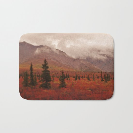 Smoky Mountains in the Fall Bath Mat