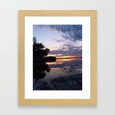 Lake Effect Framed Art Print