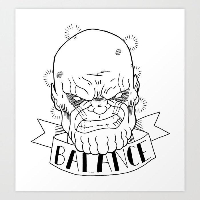 Balance Drawing Art