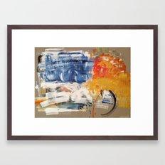 RISING SON Framed Art Print