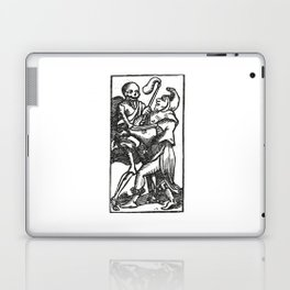Death dancer Laptop & iPad Skin