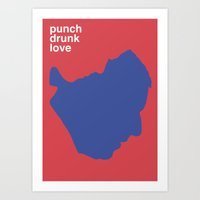Punch Drunk Love Art Print