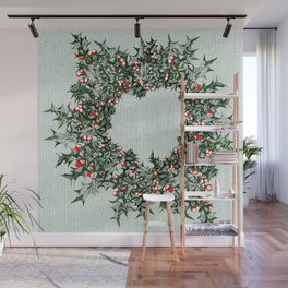 Ring of Holly Wall Mural