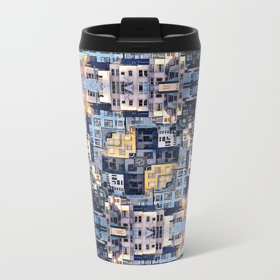 Community of Cubicles Metal Travel Mug