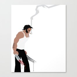 Basic Paper - Wolverine Canvas Print