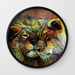 A tender moment in the wild Wall Clock