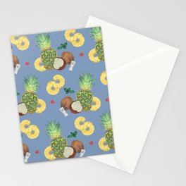 pinacolada_blue Stationery Cards