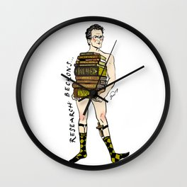 "Rupert ""Research"" Giles Pin up Wall Clock"