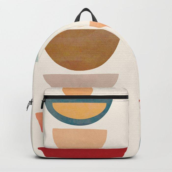 Modern Abstract Art 75 Backpack