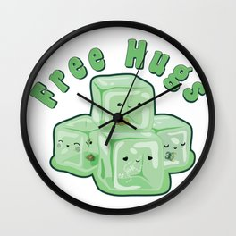 D&d tee  gelatinous Wall Clock