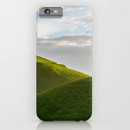 One Tree Hills, Ireland, Springtime, Emerald Isles Photograph iPhone Case
